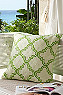 Quatrefoil Crewel Pillow Photo