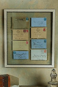 French Script Envelopes