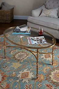 Gilded Glamour Coffee Table