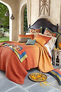 Sunset Silk Quilt