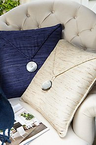 Slub Silk Pillow