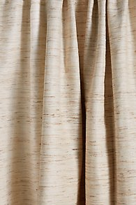 Slub Silk Drapery Panel