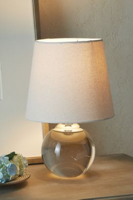 Crystal Globe Table Lamp