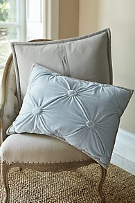 Ruched_Velvet_Bed_Sham