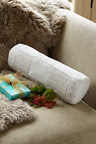 Metallic_Knit_Bolster