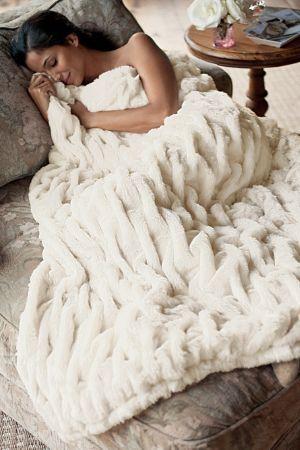 Paris Faux Fur Throw - Faux Fur Throw, Faux Fur Blanket | Soft ... : faux fur quilt - Adamdwight.com