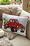 Holiday Memories Hook Pillow Photo