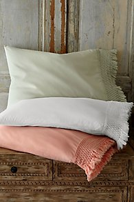 Trousseau Fringed Pillowcase Pair