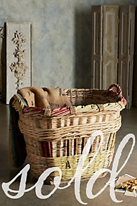 Wicker Champagne Grape Picking Baskets