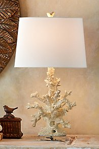 Coral Cue Table Lamp - Set of 2