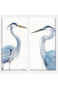 Wild Blue Heron Print