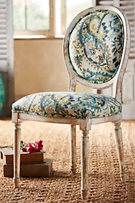 San Marco Oval Back Chair