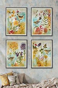Oiseaux dans le Jardin Prints