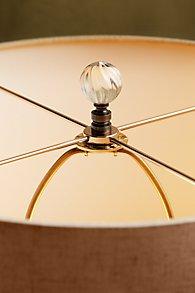Glass Swirl Lamp Finial