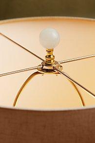 Rock Crystal Ball Lamp Finial