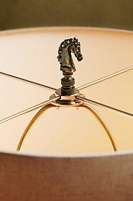 Horse Lamp Finial