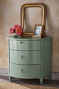 Cortona 3-Drawer Demilune