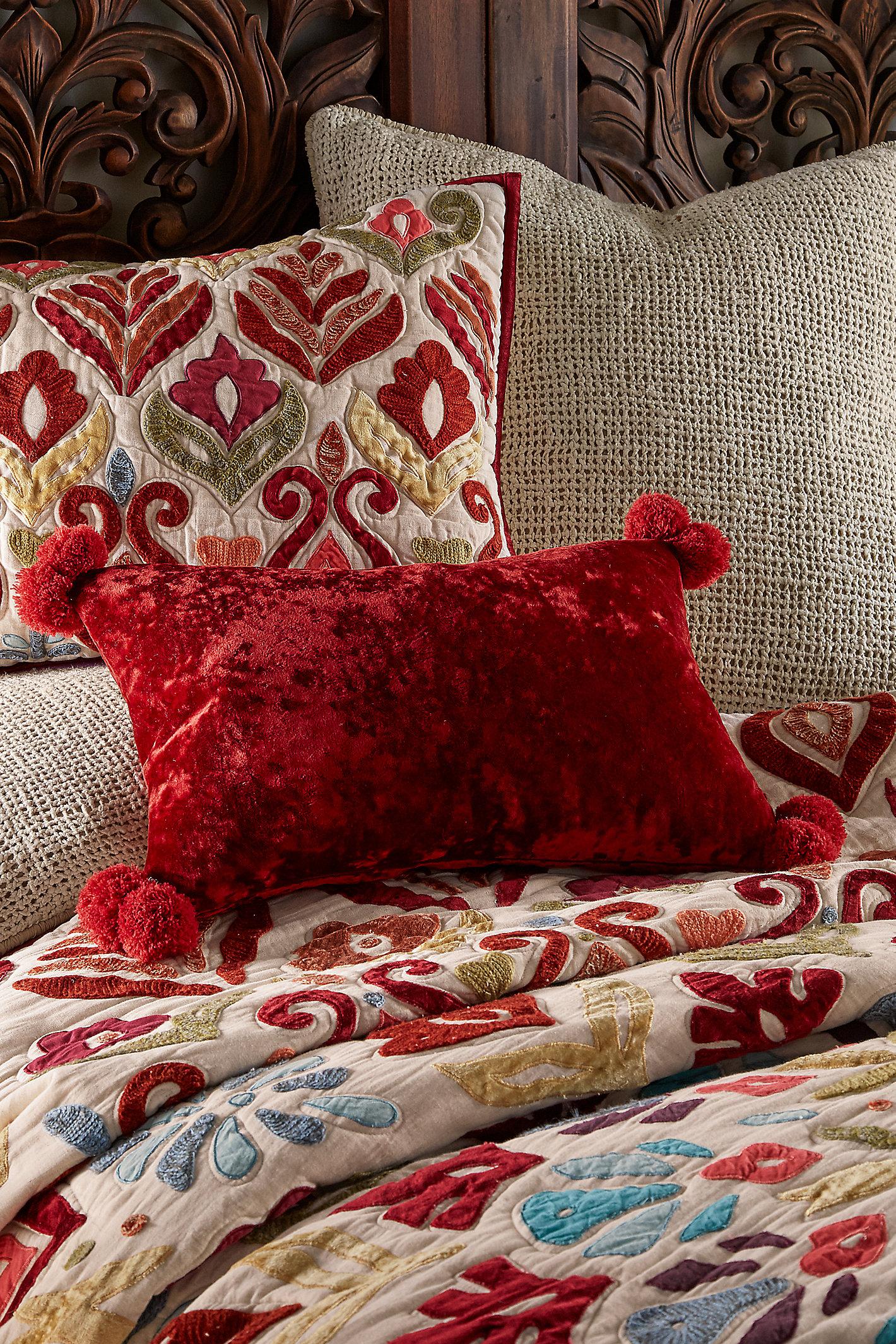 Alyssa Velvet Rectangle Pillow