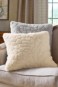 St. Moritz Faux Fur Square Pillow