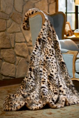 Leopard Throw