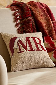 MR Hooked Holiday Pillow