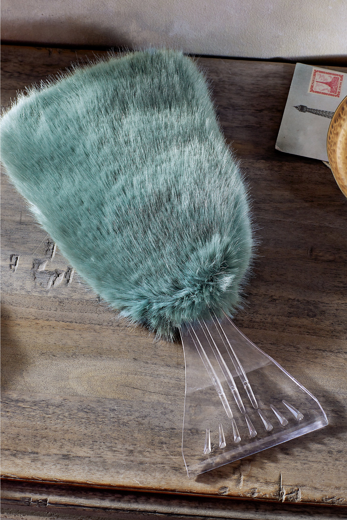 Amanda Faux Fur Ice Scraper