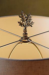 Oak Leaves Lamp Finial