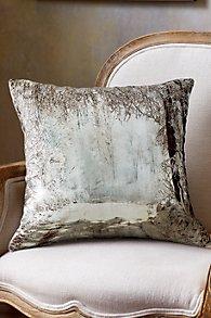Lac d'Hiver Velvet Pillow