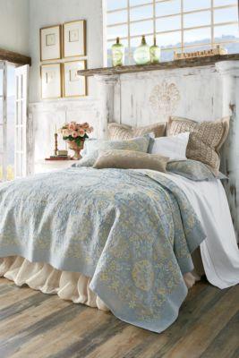 La Fleur Tapestry Coverlet ...