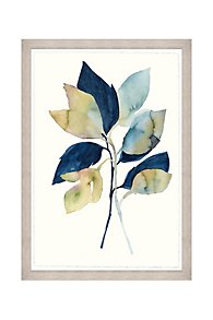 Feuilles de Printemps Framed Wall Art