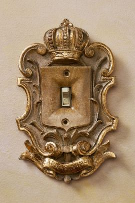 Majesty Light Switch Plate