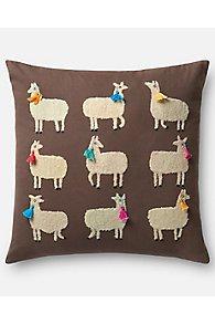 Lady Llamas Pillow