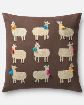 Lady Llamas Pillow