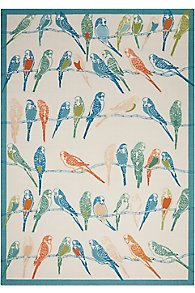 Playful Parrots Indoor/Outdoor Rug