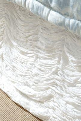 Leela Ruched Bedskirt