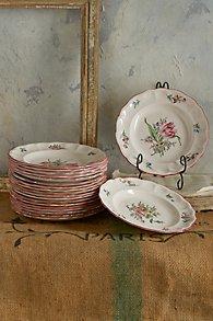 Lorraine Rose Plates