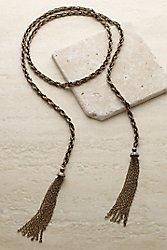 Vintage Tassel Necklace