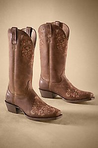 Ariat Floral Boots