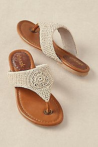 The Sak Crochet Sandal