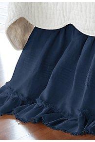 Linen Bedskirt