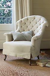 Avignon Tufted Back Chair