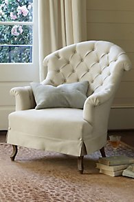 Avignon Tufted Back Chair