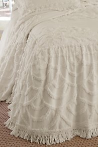 Skirted Coverlet