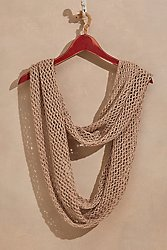 Open Net Eternity Scarf