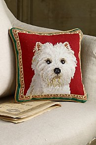 Westie_Needlepoint_Pillow