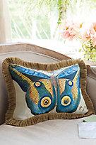 Mariposa Fringed Pillow
