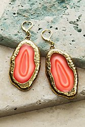 Ava Agate Earrings