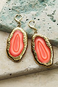 Ava Agate Earrings