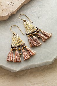 Filigree Tassel Earrings