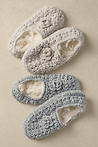 Pointelle Slipper Socks
